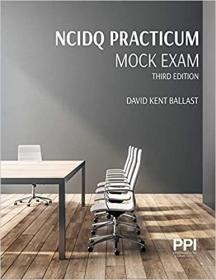 预订Ppi Ncidq Practicum Mock Exam, Third Edition