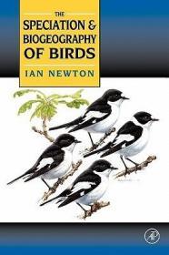 预订Speciation and Biogeography of Birds