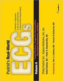 预订 Podrid's Real-World ECGs: Volume 6,Paced Rhythms, Congenital Abnormalities, Electrolyte Disturbances, and More