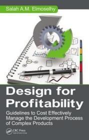 预订Design for Profitability