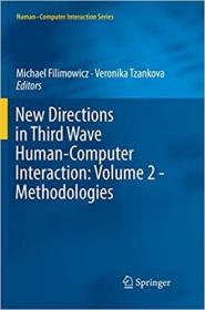 预订New Directions in Third Wave Human-Computer Interaction: Volume 2 - Methodologies