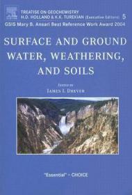 预订Surface and Ground Water, Weathering, and Soils