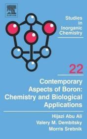 预订Contemporary Aspects of Boron: Chemistry and Biological Applications