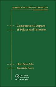 预订Computational Aspects of Polynomial Identities
