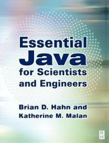 预订Essential Java for Scientists and Engineers