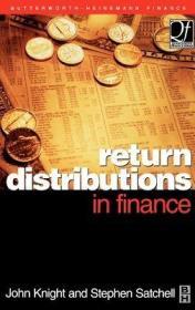 预订Return Distributions in Finance