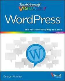 预订Teach Yourself Visually Wordpress