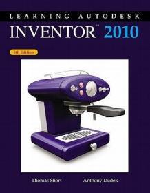 预订Learning Autodesk Inventor, 2010