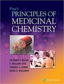 预订 Foye's Principles of Medicinal Chemistry