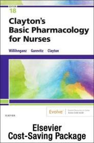 预订Clayton's Basic Pharmacology for Nurses, 18e Text and Study Guide Package