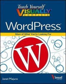 预订Teach Yourself Visually Complete WordPress