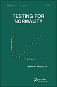预订Testing For Normality