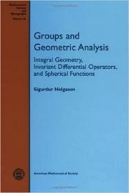 预订Groups and Geometric Analysis