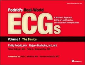 预订 Podrid's Real-World ECGs: Volume 1, The Basics
