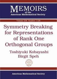 预订Symmetry Breaking for Representations of Rank One Orthogonal Groups