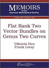 预订Flat Rank Two Vector Bundles on Genus Two Curves