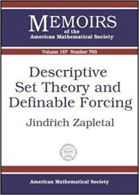 预订Descriptive Set Theory and Definable Forcing