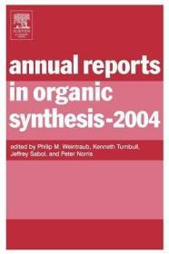 预订Annual Reports in Organic Synthesis