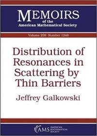 预订Distribution of Resonances in Scattering by Thin Barriers