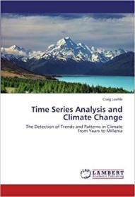 预订 Time Series Analysis and Climate Change