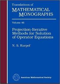 预订Projection-Iterative Methods for Solution of Operator Equations
