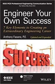 预订Engineer Your Own Success: 7 Key Elements to Creating an Extraordinary Engineering Career