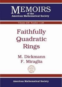 预订Faithfully Quadratic Rings