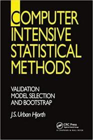 预订Computer Intensive Statistical Methods