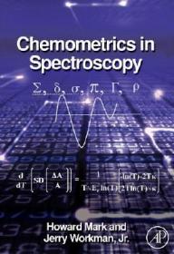 预订Chemometrics in Spectroscopy