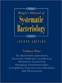 预订 Bergey's Manual of Systematic Bacteriology: Vol