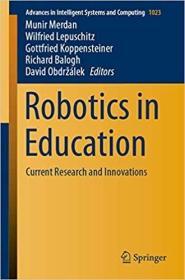 预订Robotics in Education: Current Research and Innovations