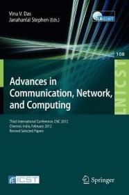 预订Advances in Communication, Network, and Computing: Third International Conference, Cnc 2012, Chennai, India, February 24-25, 2012, Revised Selected Pa