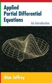 预订Applied Partial Differential Equations: An Introduction
