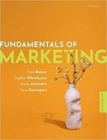 预订Fundamentals of Marketing 2e