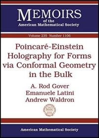 预订Poincare-Einstein Holography for Forms via Conformal Geometry in the Bulk