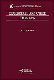 预订Degenerate and Other Problems