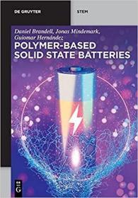 预订Polymer-based Solid State Batteries