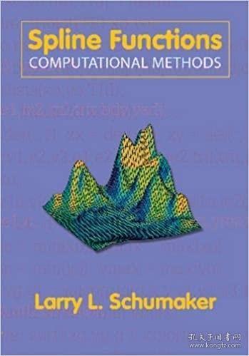 预订Spline Functions: Computational Methods