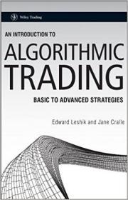 预订An Introduction To Algorithmic Trading - Basic T