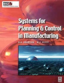 预订Systems for Planning and Control in Manufacturing