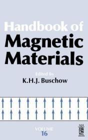 预订Handbook of Magnetic Materials