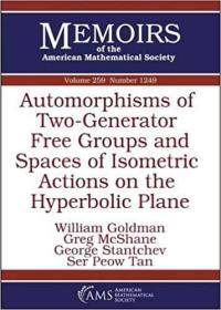 预订Automorphisms of Two-Generator Free Groups and Spaces of Isometric Actions on the Hyperbolic Plane