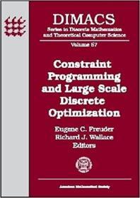 预订Constraint Programming and Large Scale Discrete Optimization