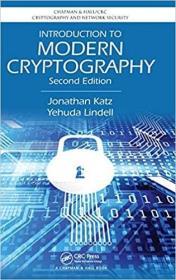 预订 Introduction to Modern Cryptography, Second Edi