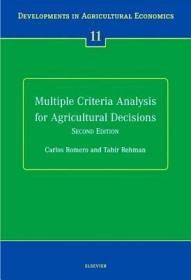 预订Multiple Criteria Analysis for Agricultural Decisions, Second Edition