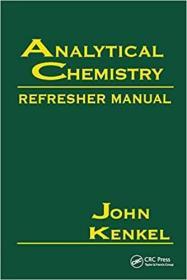 预订Analytical Chemistry Refresher Manual