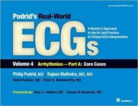 预订 Podrid's Real-World ECGs: Volume 4A, Arrhythmias [Core Cases]