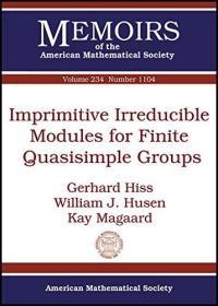 预订Imprimitive Irreducible Modules for Finite Quasisimple Groups