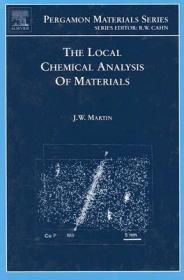 预订The Local Chemical Analysis of Materials