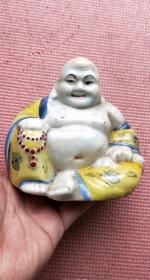 彩釉瓷弥勒佛-50622